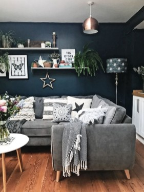 Cute Monochrome Living Room Decoration You Must Have 49