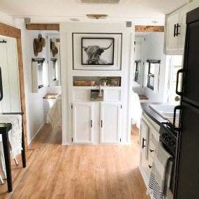 Fabulous RV Renovation Ideas To Make A Happy Campers 04