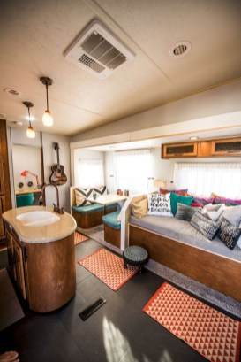 Fabulous RV Renovation Ideas To Make A Happy Campers 15