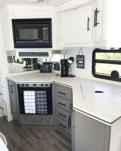 Fabulous RV Renovation Ideas To Make A Happy Campers 30