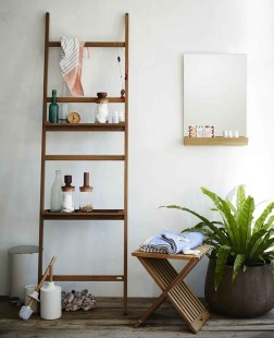 Inspiring Bathroom Decoration Ideas With Wooden Storage 02