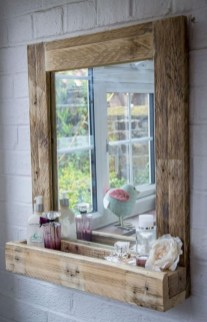 Inspiring Bathroom Decoration Ideas With Wooden Storage 49