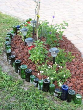 Marvelous Garden Border Ideas To Dress Up Your Landscape Edging 43