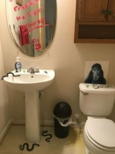 Scary Halloween Decorating Ideas For Your Bathroom 04