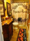 Scary Halloween Decorating Ideas For Your Bathroom 32