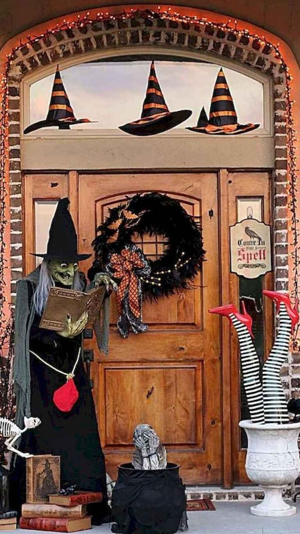 Spooktacular Halloween Outdoor Decoration To Terrify People 49