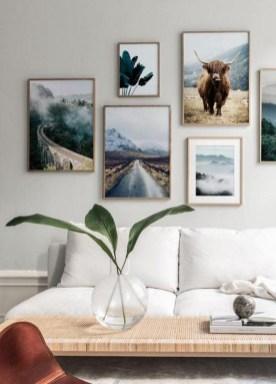 Trendy Living Room Wall Gallery Design Ideas 09