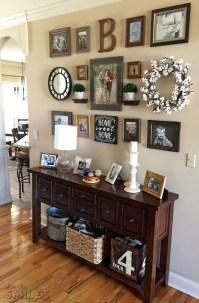 Trendy Living Room Wall Gallery Design Ideas 13