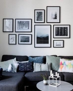 Trendy Living Room Wall Gallery Design Ideas 15