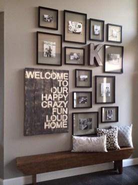 Trendy Living Room Wall Gallery Design Ideas 17
