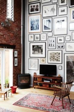 Trendy Living Room Wall Gallery Design Ideas 18