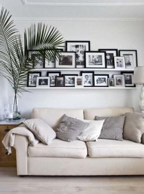 Trendy Living Room Wall Gallery Design Ideas 27