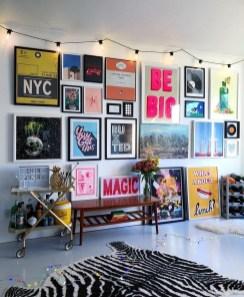 Trendy Living Room Wall Gallery Design Ideas 31