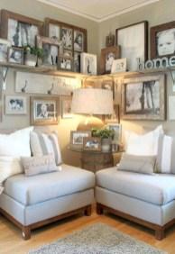 Trendy Living Room Wall Gallery Design Ideas 40