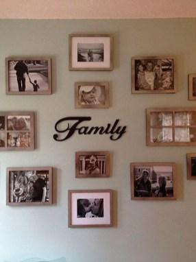 Trendy Living Room Wall Gallery Design Ideas 43