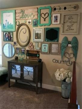 Trendy Living Room Wall Gallery Design Ideas 48