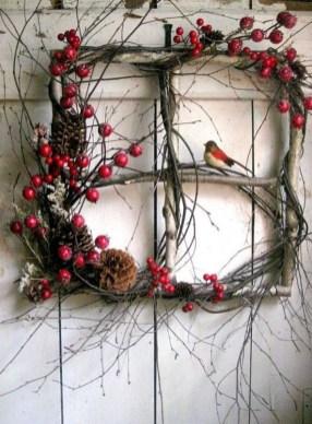 Beautiful DIY Winter Wreath To Place It On Your Door 26