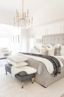 Best Master Bedroom Decoration Ideas For Winter 23