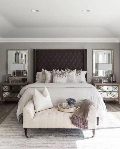 Best Master Bedroom Decoration Ideas For Winter 52