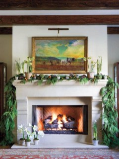 Inspiring Fireplace Mantel Decorating Ideas For Winter 19