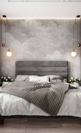 Modern Style For Industrial Bedroom Design Ideas 16