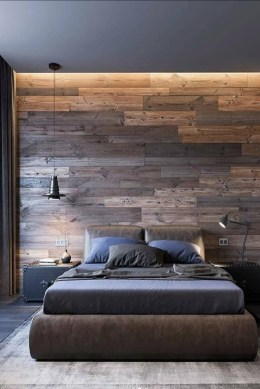 Modern Style For Industrial Bedroom Design Ideas 33