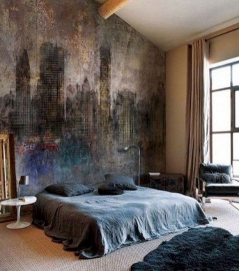 Modern Style For Industrial Bedroom Design Ideas 34