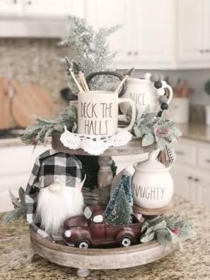 Outstanding Winter Decoration Ideas For Your Apartment 27