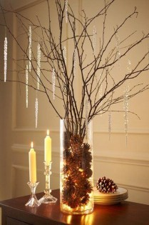 Outstanding Winter Decoration Ideas For Your Apartment 32