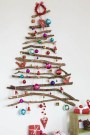 Festive Christmas Wall Trees To Copy Right Now 45