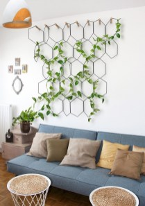 Pretty House Plants Ideas For Living Room Decoration 28