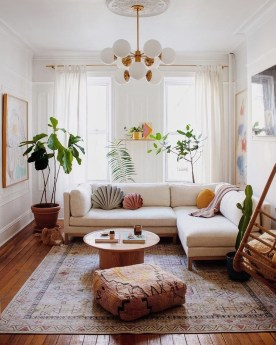 Pretty House Plants Ideas For Living Room Decoration 42