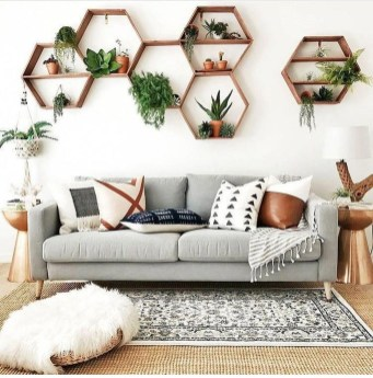 Pretty House Plants Ideas For Living Room Decoration 44
