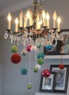 Stunning Christmas Decorated Chandeliers For Holiday Sparkle 42