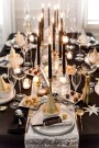 Stylish New Years Eve Table Decoration Ideas For NYE Party 44