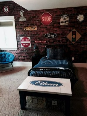 Adorable Teenage Boy Room Decor Ideas For You 18