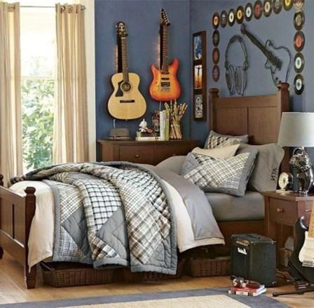 Adorable Teenage Boy Room Decor Ideas For You 29