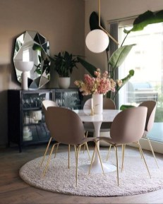 Amazing Small Dining Room Table Decor Ideas To Copy Asap 31
