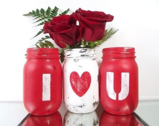 Best Valentines Day Mantel Decor Ideas That You Will Falling In Love With 02