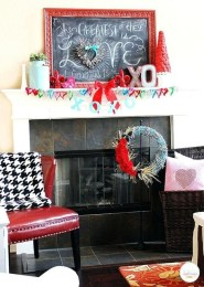 Best Valentines Day Mantel Decor Ideas That You Will Falling In Love With 17