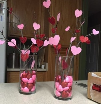 Creative DIY Valentines Day Decoration Ideas To Beautify Your Home 08