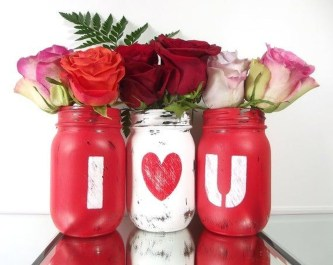 Creative DIY Valentines Day Decoration Ideas To Beautify Your Home 13