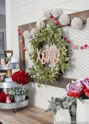 Creative DIY Valentines Day Decoration Ideas To Beautify Your Home 26