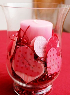 Creative DIY Valentines Day Decoration Ideas To Beautify Your Home 34