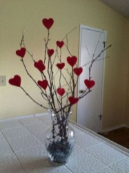 Creative DIY Valentines Day Decoration Ideas To Beautify Your Home 38