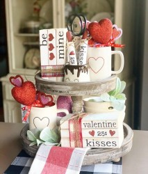 Creative DIY Valentines Day Decoration Ideas To Beautify Your Home 40