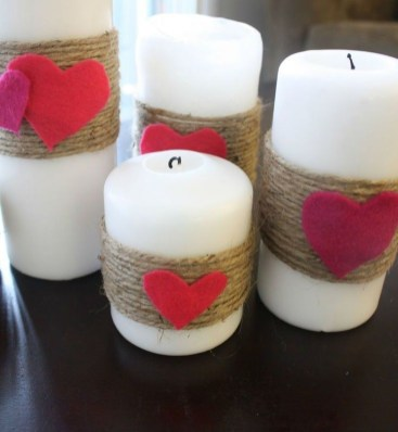 Creative DIY Valentines Day Decoration Ideas To Beautify Your Home 42
