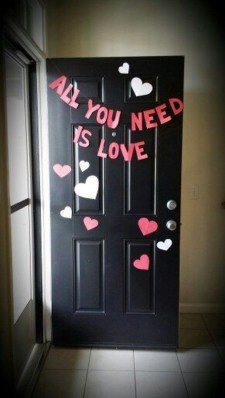 Creative DIY Valentines Day Decoration Ideas To Beautify Your Home 43