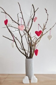 Creative DIY Valentines Day Decoration Ideas To Beautify Your Home 47