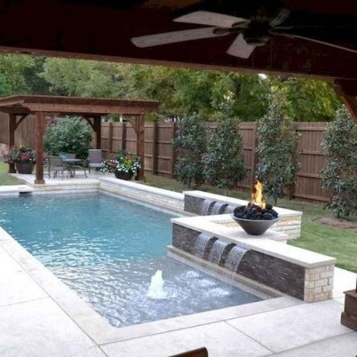 Extraordinary Small Pool Design Ideas For Small Backyard 44